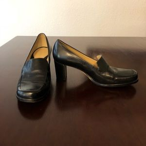 Antonio Melani Block Heel Loafers Size 6 1/2